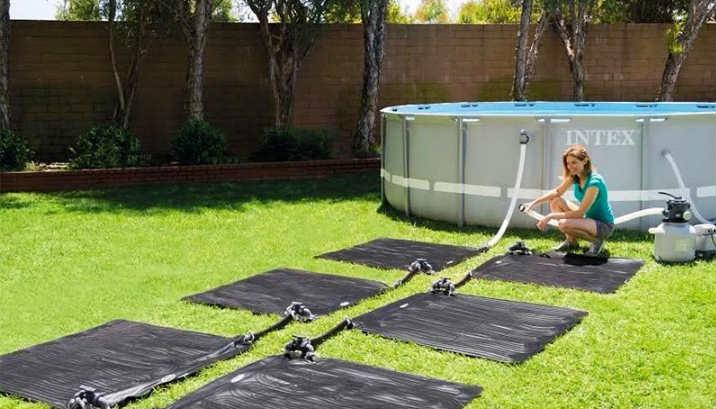 calentador agua piscina