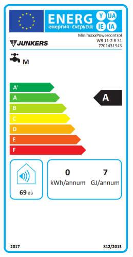 calentador junkers minimaxx wr 11-2kb
